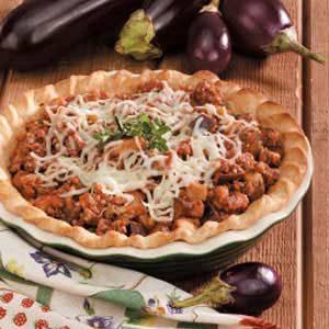 Beef 'n' Eggplant Pie