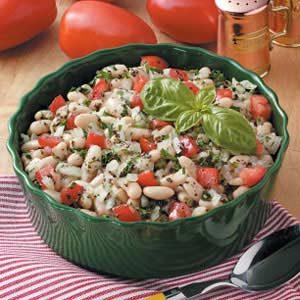 White Bean Tomato Salad