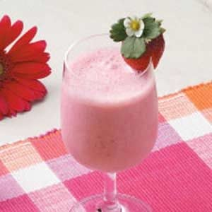 Strawberry Breakfast Shakes