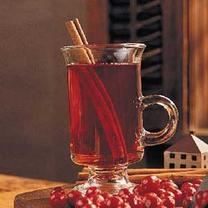 Spicy Cranberry Warmer