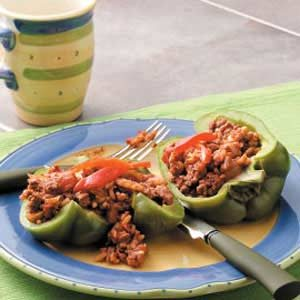 Cuban-Style Stuffed Peppers