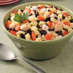Chicken Spiral Salad