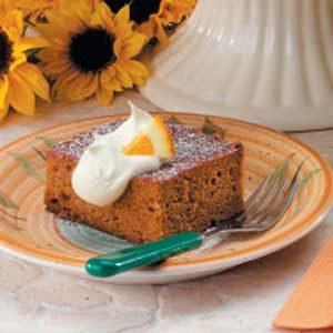 Ginger Pumpkin Cake