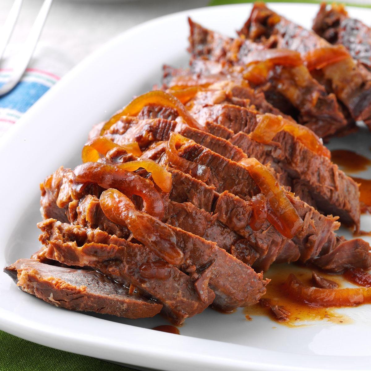 Slow Cooker Beef Au Jus Recipe Taste Of Home
