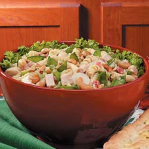 Chinese Turkey Pasta Salad