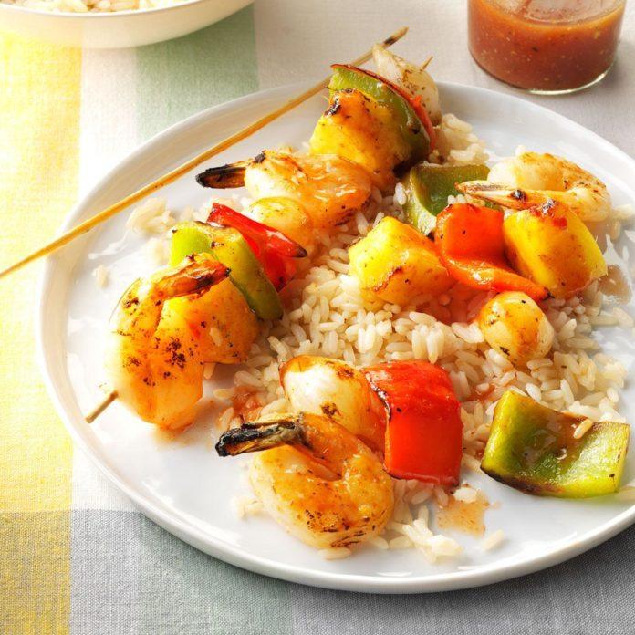 Ohio: Tangy Shrimp Kabobs