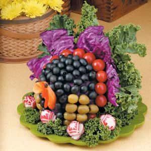 Veggie Turkey Centerpiece