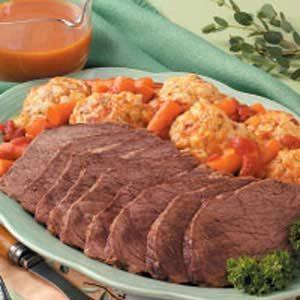 Curried Beef with Dumplings