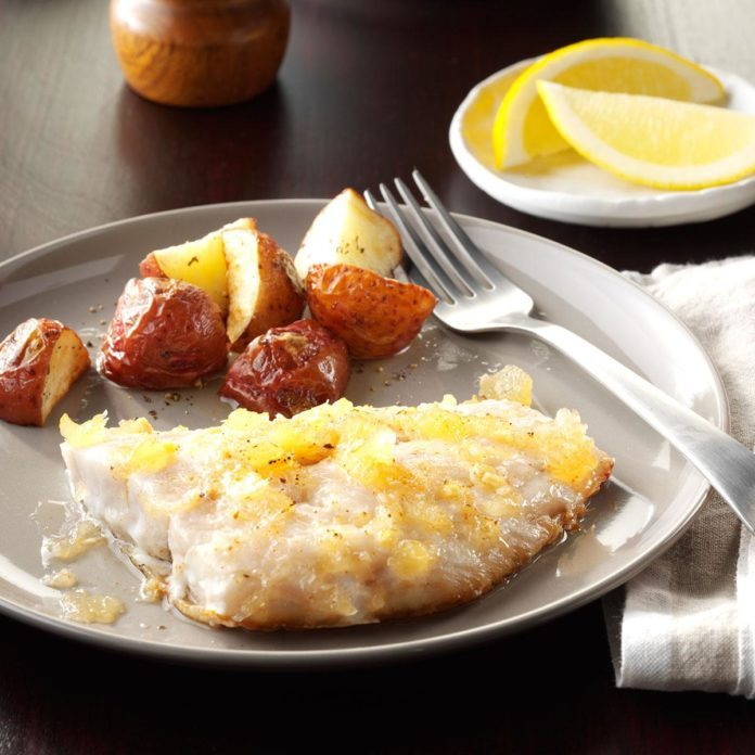 Snapper with Spicy Pineapple Glaze