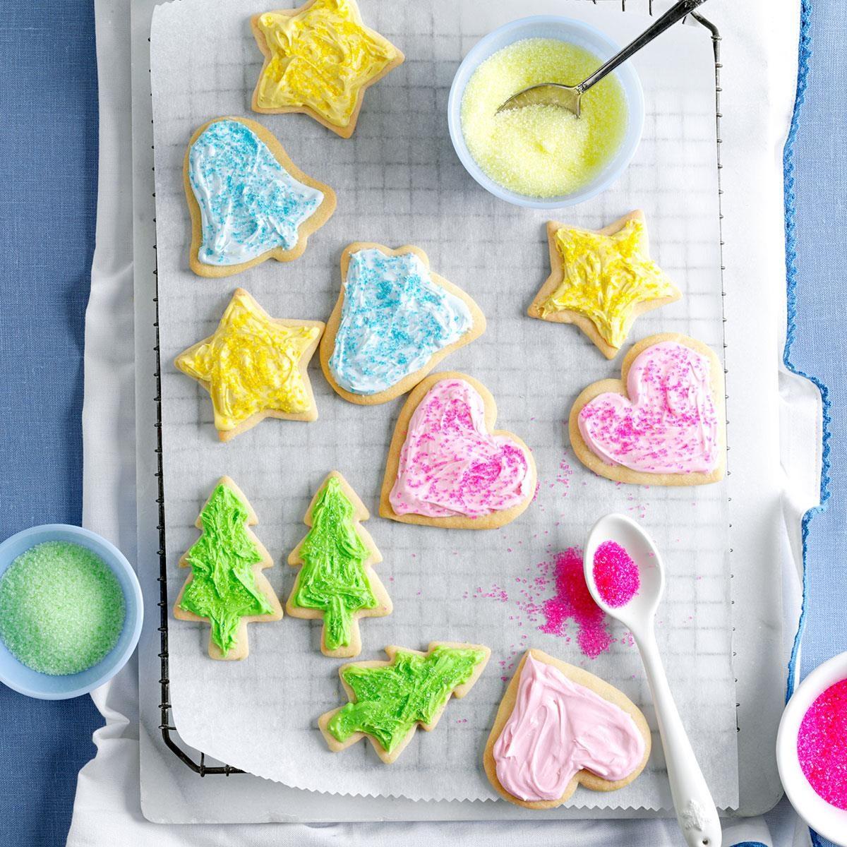 Deluxe Sugar Cookies Recipe