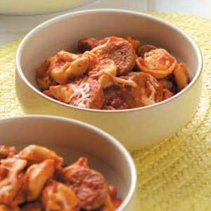Roasted Pepper Tortellini