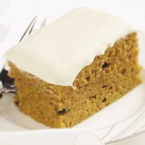 Makeover Pumpkin Cake