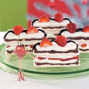 Strawberry Meringue Desserts