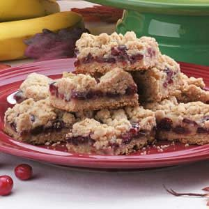 Sour Cream Cranberry Bars