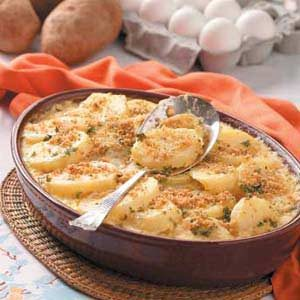 Creamed Potato Casseroles