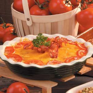 Tomato Onion Pie