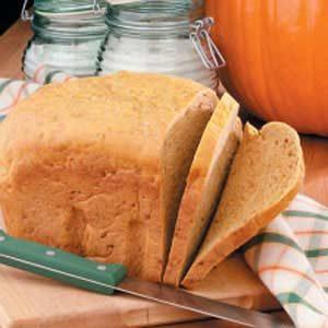 Soft Pumpkin Yeast Bread