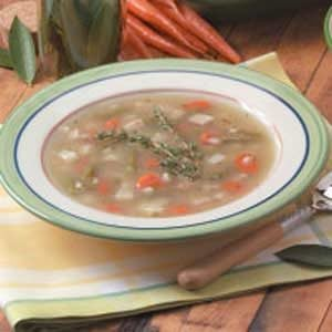 Turkey Vegetable Barley Soup