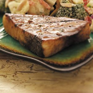 Soy-Ginger Grilled Swordfish