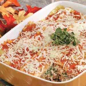 Spinach Venison Lasagna