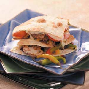Pepper Steak Quesadillas