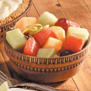 Honey-Lime Melon Salad