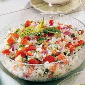 Basil Tomato Salad