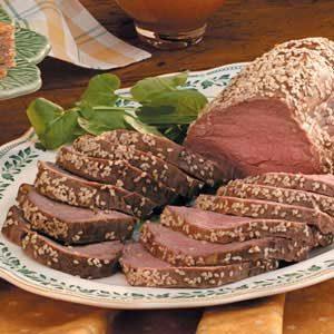 Sesame Beef Tenderloin