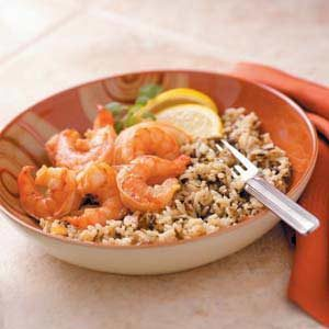 Lemon Garlic Shrimp