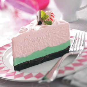 Peppermint Grasshopper Torte