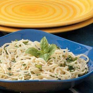 Parmesan Basil Spaghetti