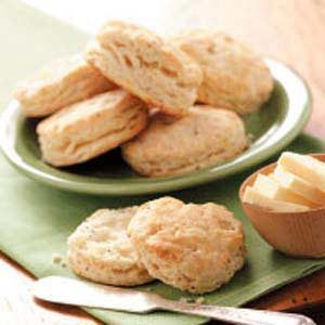 Onion Poppy Seed Biscuits