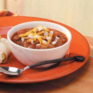 Zippy Steak Chili