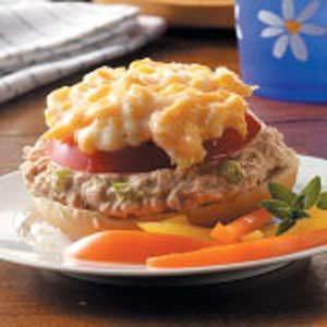 Tuna Puff Sandwiches