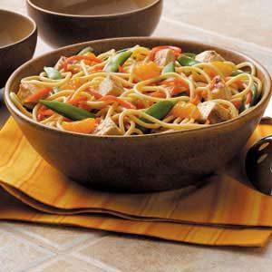 Asian Noodle Toss