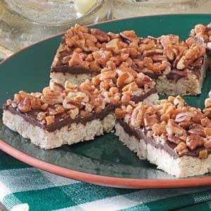 Chocolate-Oat Toffee Bars