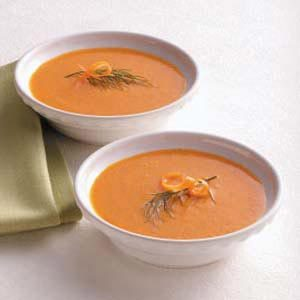 Red Pepper Carrot Soup