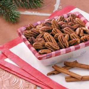 Cinnamon 'n' Spice Pecans
