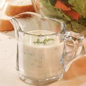 Creamy Dill Salad Dressing