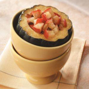 Apple-Spice Acorn Squash