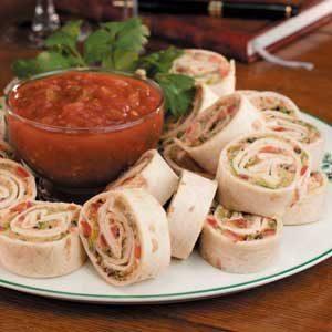 Taco Pinwheels Appetizers