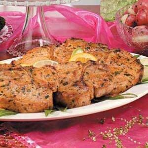 Cilantro-Lime Pork Chops