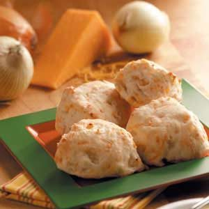 Cheesy Onion Biscuits