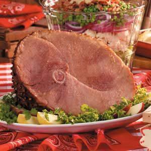 Sow-per Glazed Ham
