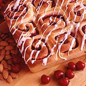 Cherry Nut Breakfast Rolls