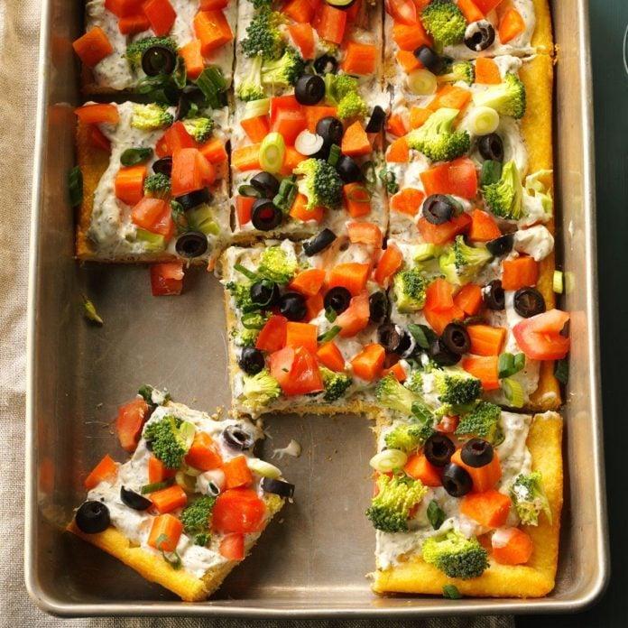 Ohio: Dilly Veggie Pizza