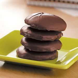 Contest-Winning Chocolate Mint Wafers