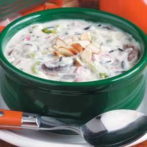 Quick Creamy Wild Rice Soup
