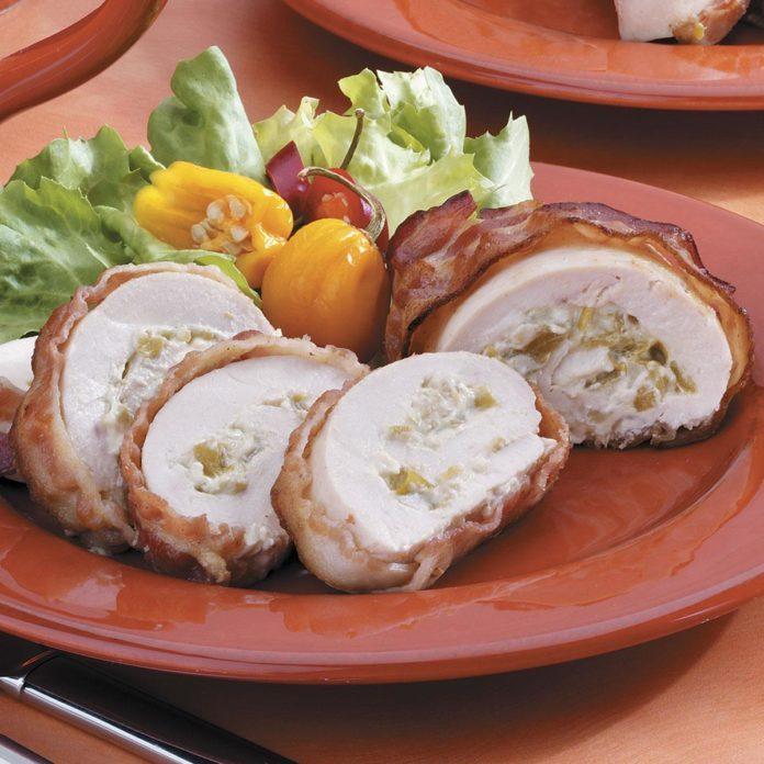 Bacon-Wrapped Chicken Spirals
