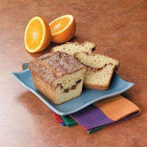 Orange Cinnamon Swirl Bread